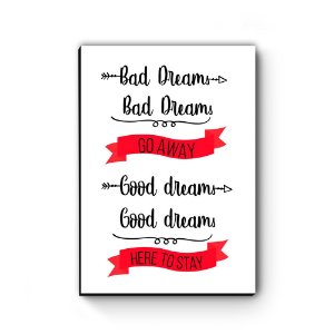 Quadro decorativo MDF Greys Anatomy Bad Dreams