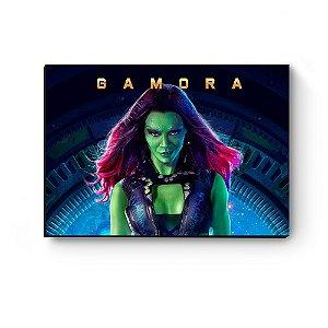 Quadro decorativo MDF Guardiões da Galaxia Gamora