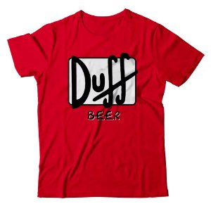 Camiseta Simpsons Duff Beer