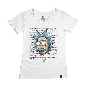 Camiseta Feminina Rick Einstein