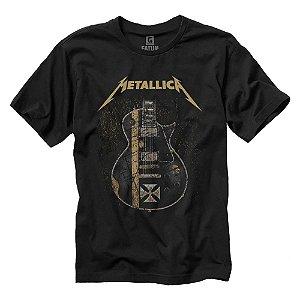 Camiseta Metallica Iron Cross