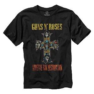 Camiseta Guns N´Roses Appetite For Destruction