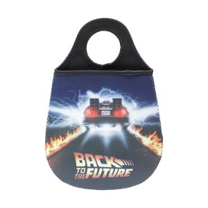Lixeira de carro Neoprene Back To The Future
