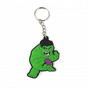 Chaveiro emborrachado Hulk