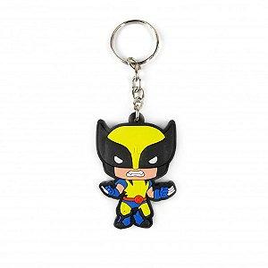 Chaveiro emborrachado Wolverine