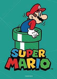 Quadro Metal Super Mario 26X20CM