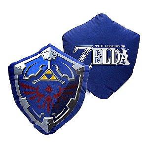 Almofada Formato Fibra Escudo Link Zelda