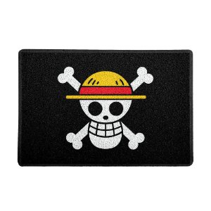 Capacho 60x40cm Vinil One Piece Piratas