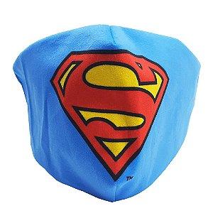 Máscara de proteção veludo Super Homem