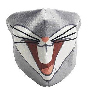 Máscara de proteção veludo Pernalonga
