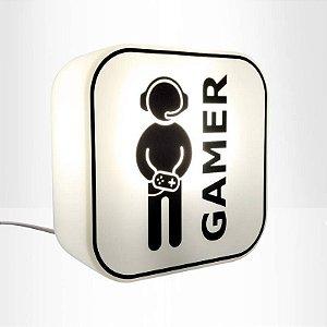 Luminária Gamer