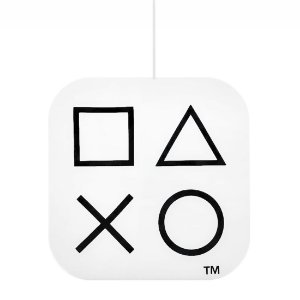 Luminária Pendente Playstation Box Ícones Branco