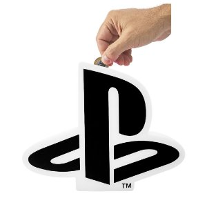 Cofre Playstation Logo Branco