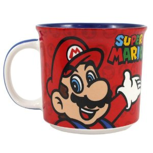 Caneca Tom 350ml Super Mario