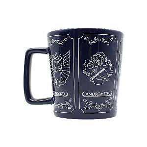 Caneca Buck 400ml Cavaleiros do Zodíaco Emblemas