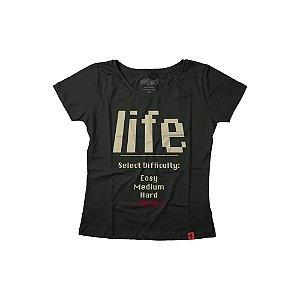 Camiseta Feminina Life 2020