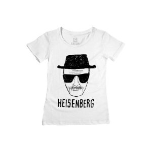 Camiseta Feminina Breaking Bad Heisenberg