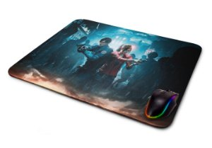 Mouse pad Gamer Resident Evil 2 Claire e Leon II