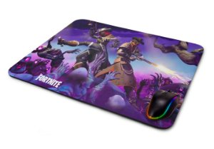 Mouse pad Gamer Fortnite Personagens IV