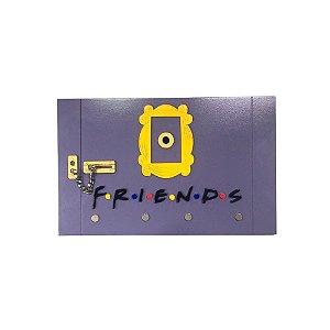 Porta chaves relevo em MDF Porta Friends