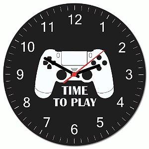 Relógio de Parede Gamer PS