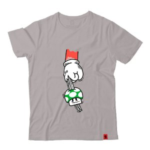Camiseta Kill the Mushroom Mario