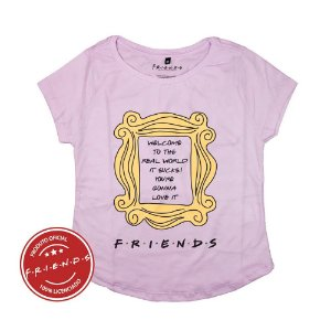 Camiseta Feminina Friends Frame