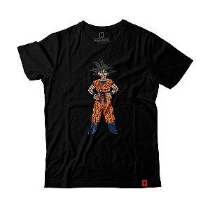 Camiseta Dragon Ball Goku Kamehameha