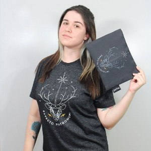Camiseta Harry Potter Expecto Patronum com necessaire