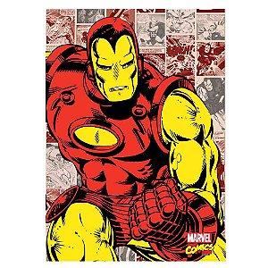 Quadro Canvas 70X50 Homem de Ferro Comics