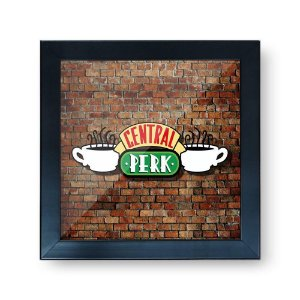 Quadro Cofre 3D Friends Central Perk