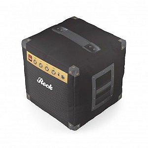 Almofada cubo caixa de som
