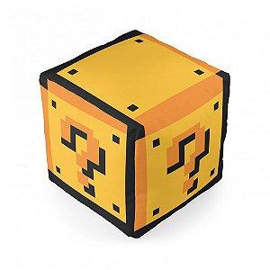 Almofada cubo Mario