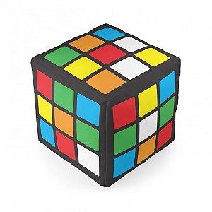 Almofada formato cubo mágico
