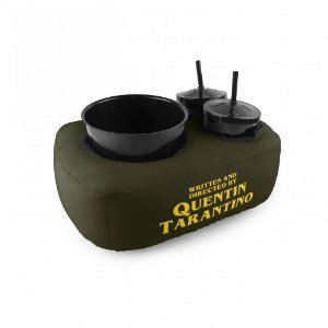 Almofada porta pipoca 2 copos - Quentin Tarantino