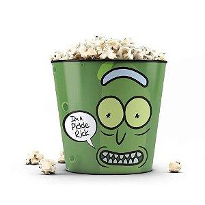 Balde de Pipoca  Rick and Morty I´m a Pickle Rick