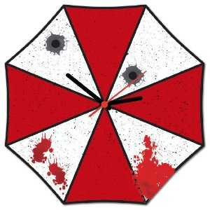 Relógio de Parede Evil Corp