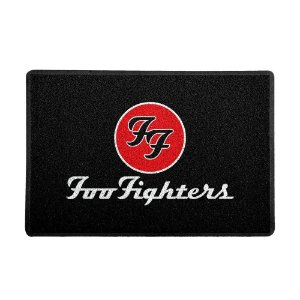 Capacho Foo Fighters Preto