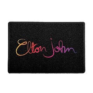 Capacho Elton John Preto