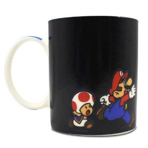 Caneca Magic porcelana Super Mario 300ml