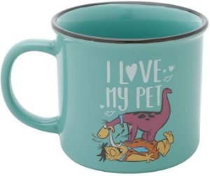 Caneca Porcelana WB Flinstones Dino Love My Pet