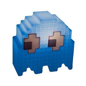 Luminária Fantasminha Pacman Azul Inky