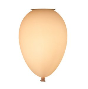 Luminária Balão de Teto Branco