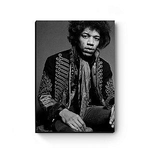 Quadro decorativo MDF Jimi Hendrix