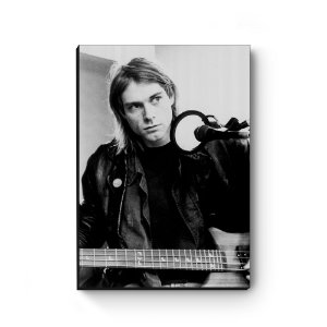 Quadro decorativo MDF Kurt Cobain