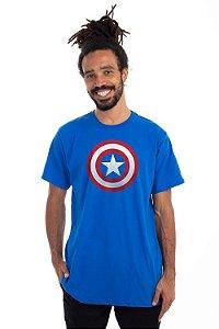 Camiseta Capitão América Logo