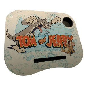 PORTA LAPTOP MDFPLASTICO HB TOM AND JERRY SCREAMING CAT COL