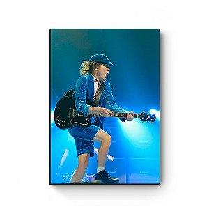 Quadro decorativo MDF Angus Young AC/DC