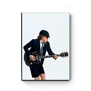 Quadro decorativo MDF Angus Young AC/DC MOD2
