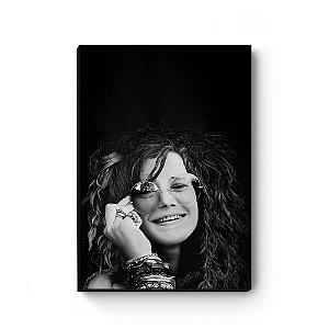 Quadro decorativo MDF Janis Joplin